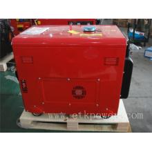 Generador diesel portable del soldador 4.6kw / 50Hz