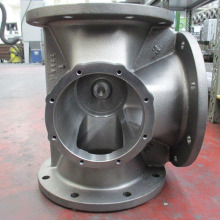 Iron foundry cast iron valve body
