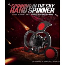 2017 Mais novo estilo ar girando Spinner Brinquedos Fidget Hand Spinner para bronze aliviar o estresse
