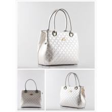 White Elegant Ladies Bag Light Color Bag Ladies Handbag (LY060203)