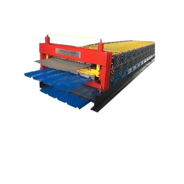 Profesional Double Plate Colour Steel Roll Forming Machine