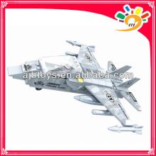 Детский самосборный строительный блок Toy Plane Block (126шт)