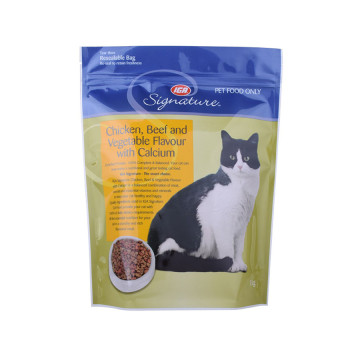Matkvalitet Pet Packaging Stand Up Bag