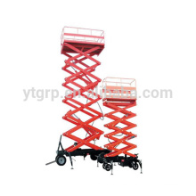 Henan Yuntina plataforma de elevación aérea móvil eléctrica de alta calidad