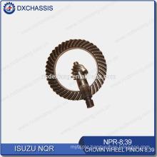 Genuine NQR 700P Crown Wheel Pinion Gear 8:39 NPR-8:39