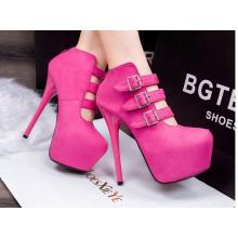 Pop Classic Fashion High Heel Ladies Sexy Dress Shoes (HCY02-2009)