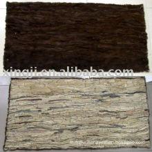 mink belly fur plate