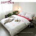 Luxury Comfortable Adult Queen Size100% Cotton Hotel embroidery sets top 5 star hotel household home bedding s