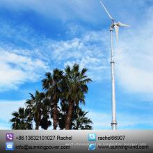 Sunning 5000W 48V Mini Wind Generator Verwendung in den Niederlanden