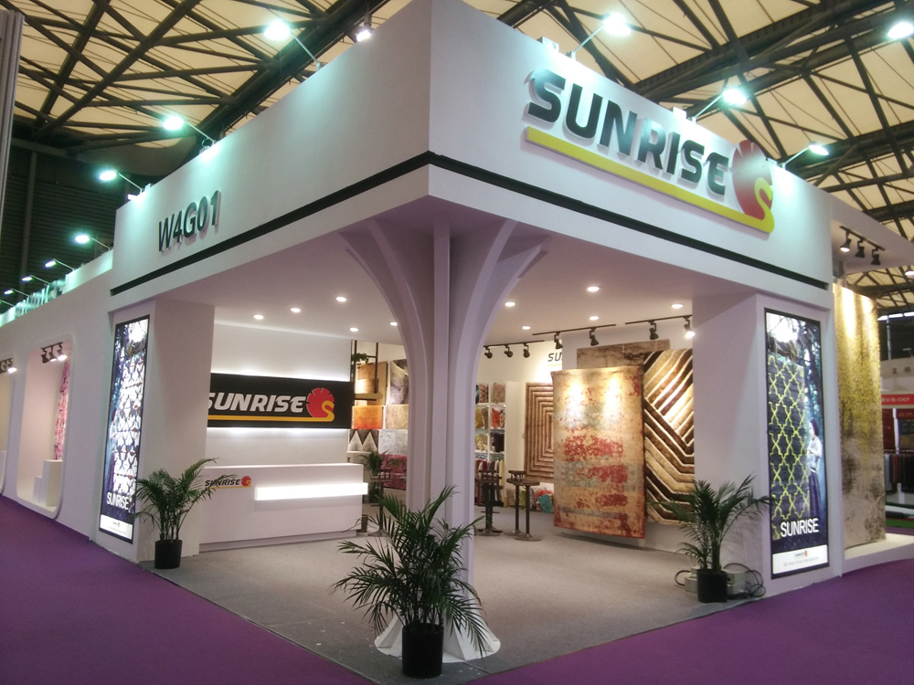 Domotex Asia Fair of SUNRISE (9)