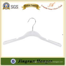 Compras en línea de alta calidad White Gown Hanger de plástico