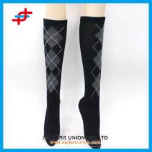 Japanese stocking girl's knee high sports socks, compression sleeve leg warmer
