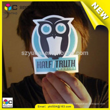 China supplier sticker printing paper and plastic sticker printing