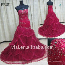 PP2511 Wholesale Free Shipping Lace Mermaid Evening Gown 2011
