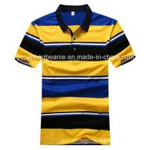 Das T-Shirt der Männer, das Streifen-T-Shirt der Männer