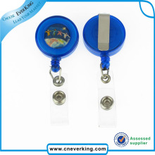 Eco-Friendly DIY Retractable Badge Holder Pull Reel