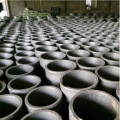 Factory hot sale graphite round crucible
