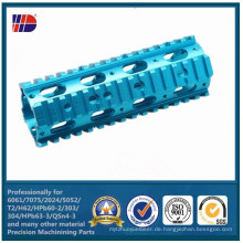 Soem-anodisiertes Aluminium 6061 7075 Präzision CNC, das Soem-Teil maschinell bearbeitet