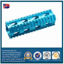 OEM aluminio anodizado 6061 7075 CNC de precisión que trabaja a máquina la pieza del OEM