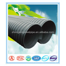 Top quality best sell 800mm sn4 pe corrugated drainage pipe