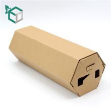 Einfach, faltbare Kraftpapier-Geschenkbox zu versenden