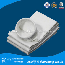 Polyester filter fabric for dust collection bag