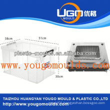 huangyan multi-compartment fish food container mold supplier mould supplier, maker