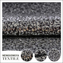 China Diferentes tipos de tela de tweed metálico de tweed polietileno