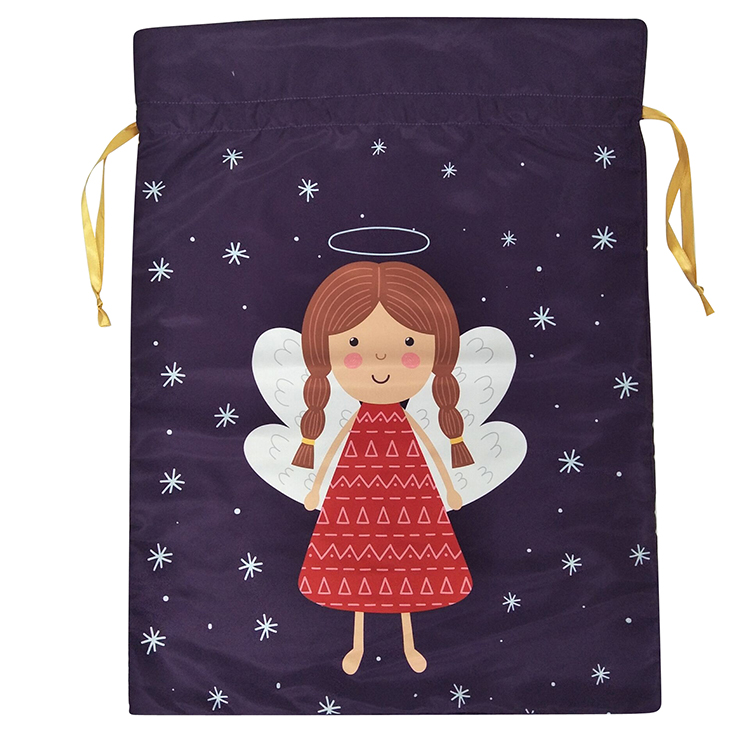 Christmas Dancing Angel Sack
