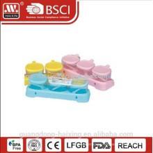 new design plastic cruet set