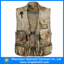 Customized Size Adult Camouflage Classic Fishing Vest