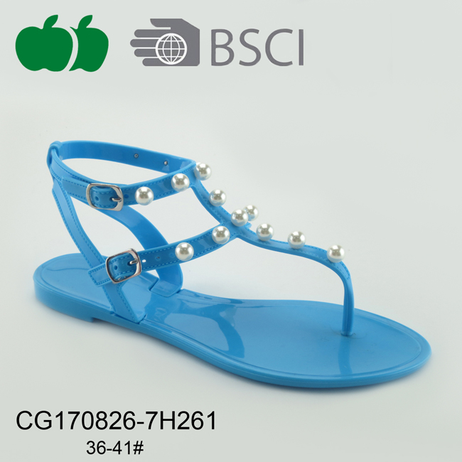 fashion pvc jelly sandals