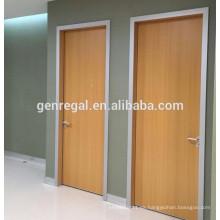 Puertas de madera de melamina del hospital interior
