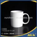Hotel y restaurante uso blanco real taza de té de porcelana fina