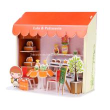 Tienda de pastel 3D Puzzle