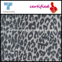 круглый год работает леопарда печати 97 3 хлопок спандекс саржевого переплетения Ткань лайкра тонкий штаны