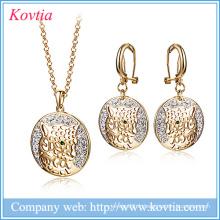 Ensemble de bijoux de luxe, bijoux en or et bijoux en dobai