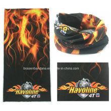Custom Made Customized Design Printed Promotional UV Protection Sports Biker Multifunctional Head Scarf