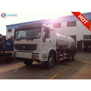 Nuevo camión bomba de aguas residuales SINOTRUCK HOWO 6X4