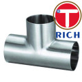 ASME B16.9 Stainless Seamless and Welded Straight Tees