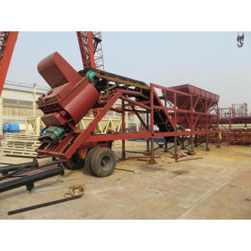 Planta de dosagem de concreto móvel (YHZS35)