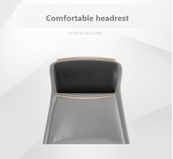 Luxury-High-Back-Soft-Headrest-Ergonomic-Office-Manager-Chair