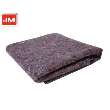 hotel carpet felt wool fabric black wool fiberfor interior decoration paint mat