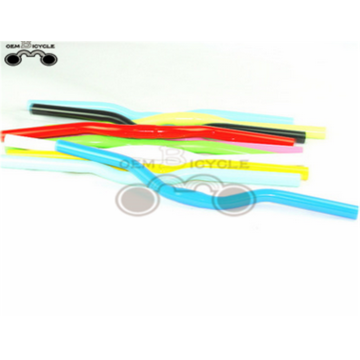 Multi-colors bike parts handle bars fixed gear bike handlebar