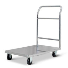 4 Wheels Foldable Hand Trolleys for Warehouse