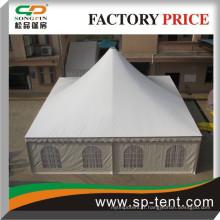 Tente de pagode imperméable à l'eau en PVC de 12mx12m avec profil en aluminium pour tente