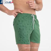 jeans de mezclilla verde para hombre