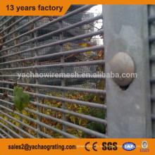 anti grimpez la barrière de sécurité, clôture de sécurité de sous-station, barrière de garde anti-montée de pont