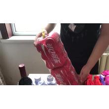 Hot Selling natural color pp tubular mesh bag in roll
