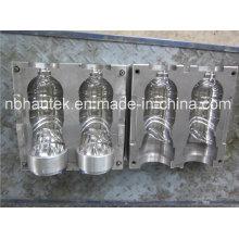 2 cavidades garrafa de água plástico soprando mofo